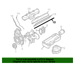 Valve Cover Gasket - GM (97188896)