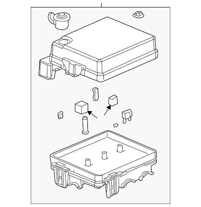 2003 2004 saturn ion fuse box 22625098 gm outlet. Black Bedroom Furniture Sets. Home Design Ideas
