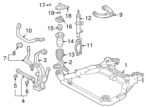 Suspension Components for 2007 Mazda 6 | TascaParts.comTasca Parts