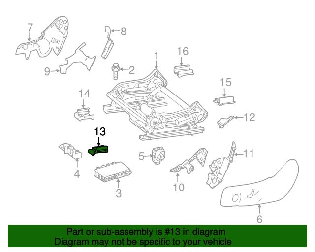 Track end cap mercedes benz 207 919 03 20 9051 for Mercedes benz parts by vin number