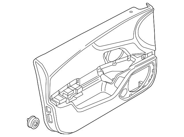 2012 2015 Audi Door Trim Panel 4g1 867 104 Ab Odu