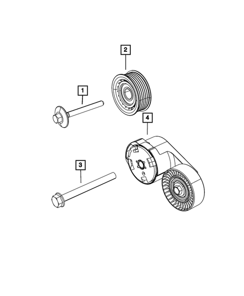 Pulleys and Related Parts for 2019 Jeep Grand Cherokee #0