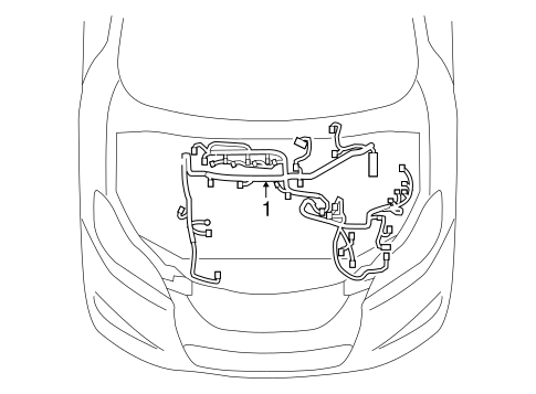 Wiring Harness Toyota Matrix