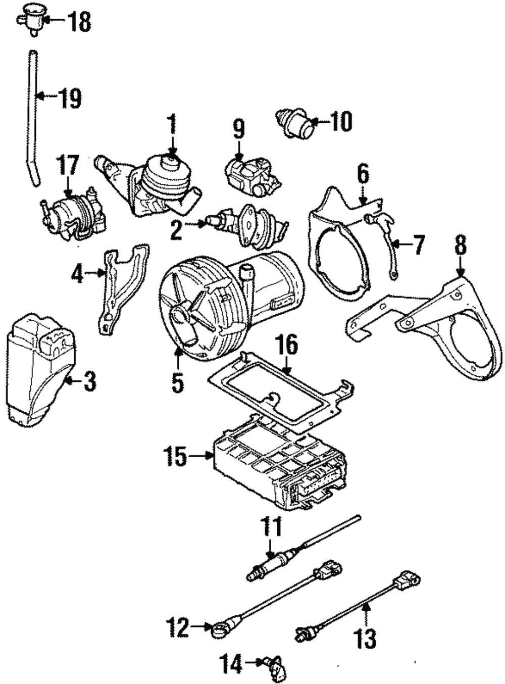 Genuine Volkswagen Fuel Pressure Regulator 037-133-035-C