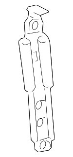 Seat Belt Height Adjuster, Left, Right, Front