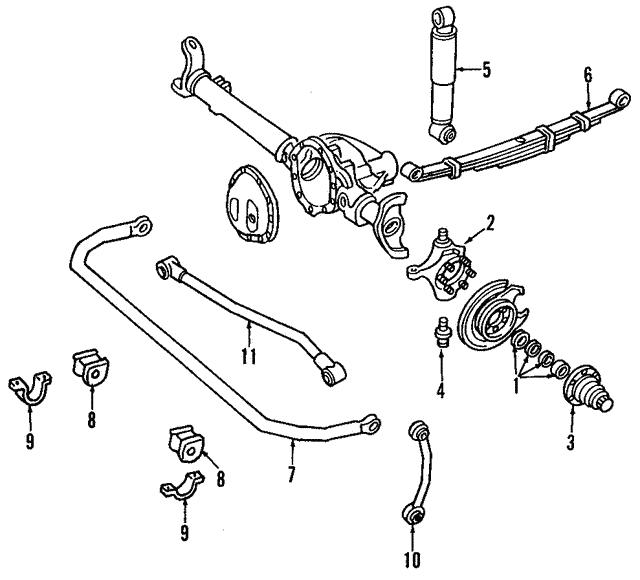 front suspension stabilizer bar link