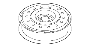 Compact Spare - GM (9593686)
