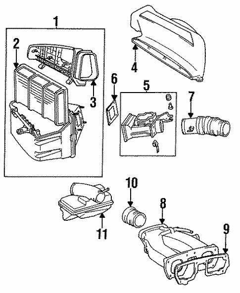 air intake for 1996 lexus gs300