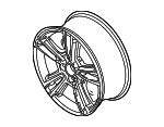 Wheel, Alloy - Ford (AR3Z-1007-C)