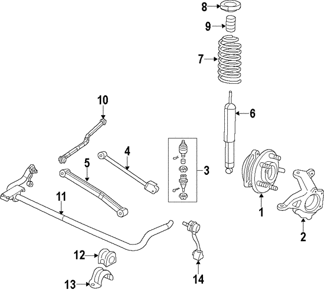 Ball Joint - Mopar (68388819AA)