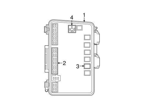 2007 chrysler pacifica fuse box location fuse & relay for 2007 chrysler pacifica 2008 chrysler pacifica fuse box diagram