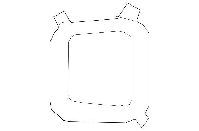 Genuine Kia Fog Lamp Bezel 86523-1U500