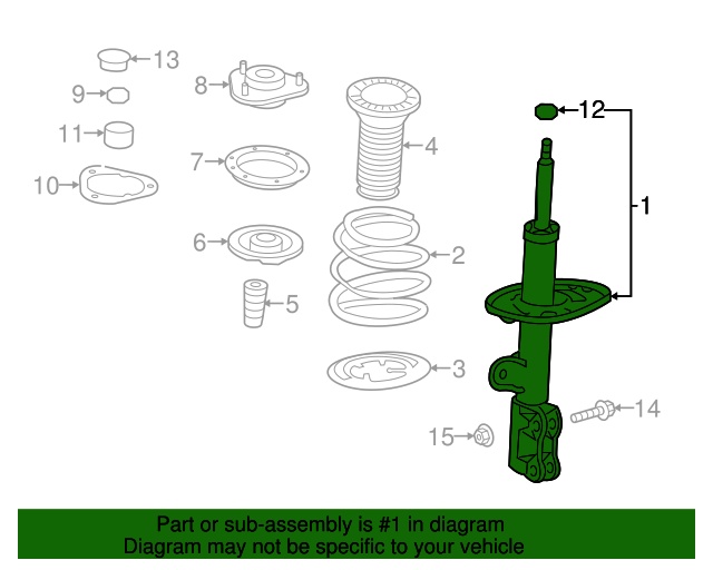 Toyota 48231-42370 Coil Spring