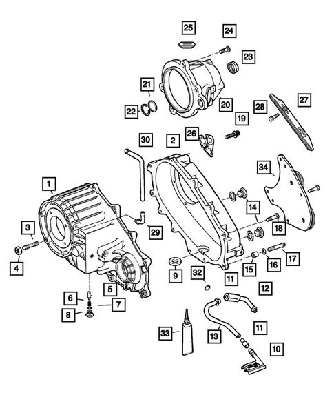 Case and Related Parts for 2003 Jeep Grand Cherokee #0