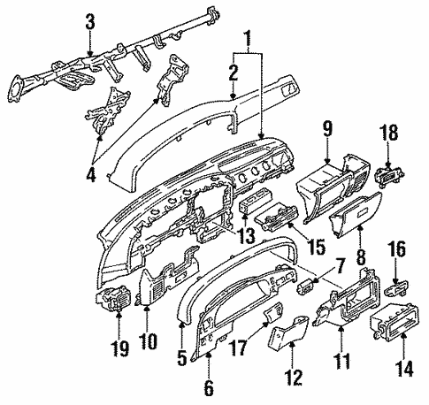 1992 Toyota Pickup Steering Diagram