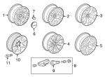 Wheel, Alloy - GM (23217243)