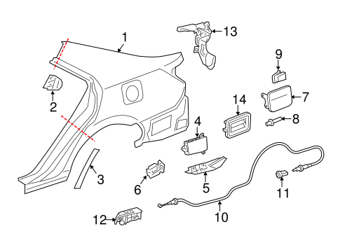 Toyota Camry Parts List Best Place To Find Wiring And