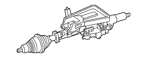 Steering Column - Mercedes-Benz (2534604500)