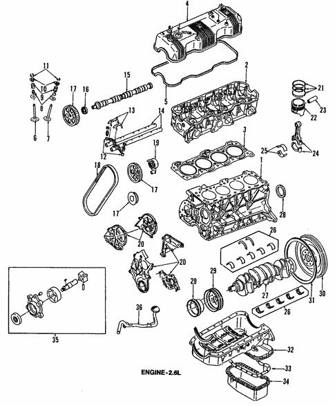 Engine For 1995 Isuzu Rodeo