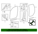 Assist Strap - Toyota (74610-0C082-E0)