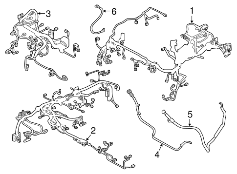 Wiring Harness for 2014 Mazda 6 | Mazda-Parts | 2014 Mazda 6 Wiring Harness |  | Mazda-Parts
