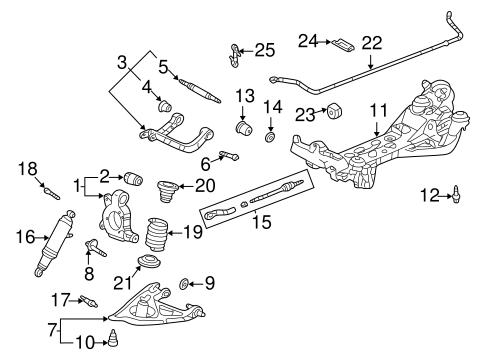 oem 2004 chevrolet venture rear suspension parts. Black Bedroom Furniture Sets. Home Design Ideas