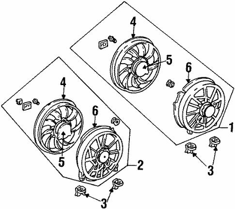 Ford Taurus Brake Parts Diagram