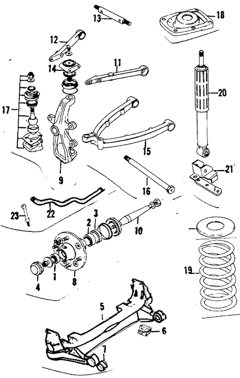 Front Suspension for 1987 Jaguar XJ6 | Jaguar Reno Parts