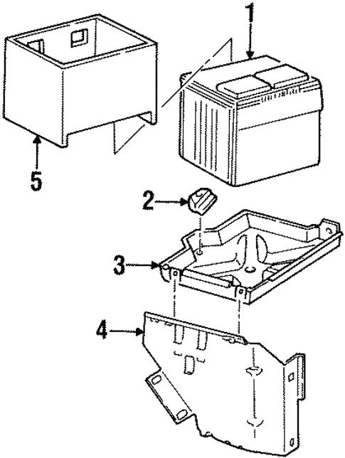 1996 Chevrolet Tahoe Parts Diagram