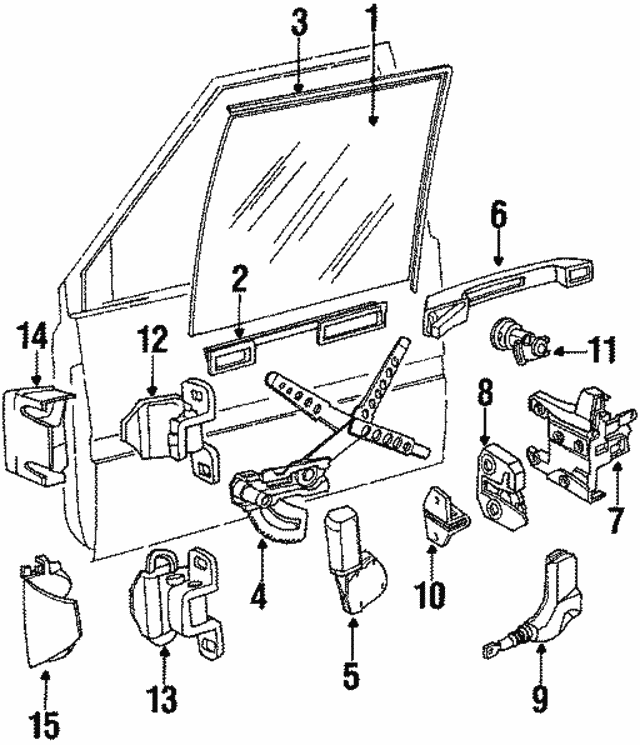 Volvo Lock Assembly 9127549