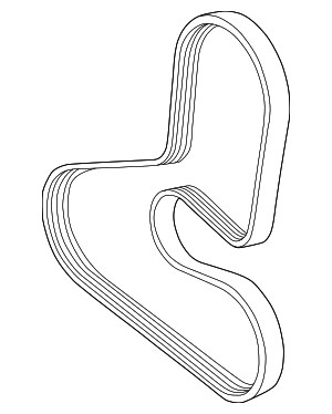 Serpentine Belt - Volvo (30731809)