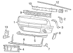 RIGHT FRONT EXTENSION - Mopar (6EY79TZZAB)