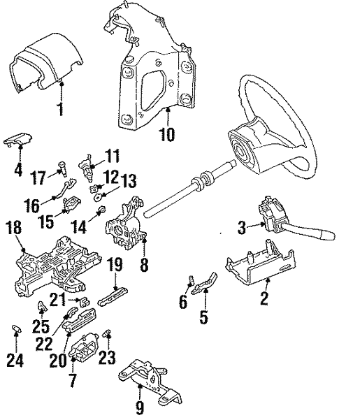 Housing Components For 1996 Ford Bronco