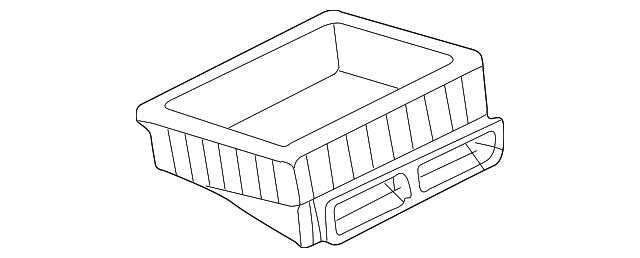 LAND ROVER AIR BOX INTAKE DUCT FREELANDER DHN000050 OEM