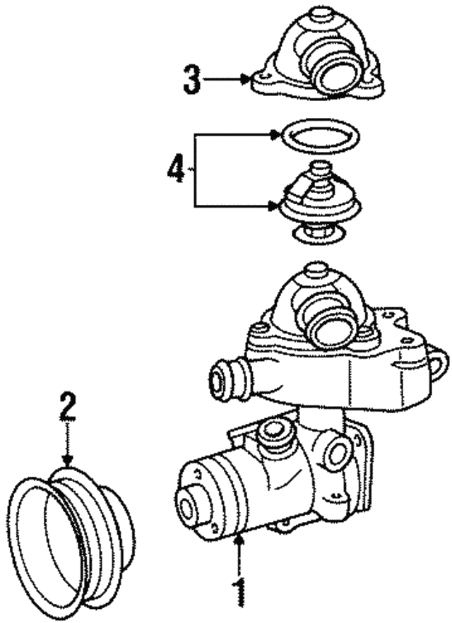 Pulley - Mercedes-Benz (104-200-00-05)