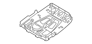 Roof Console - BMW (61-31-6-826-918)