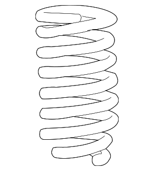 Coil Spring - Toyota (48131-0C570)
