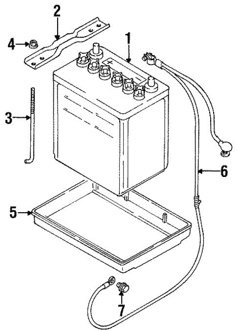 electrical/battery for 1998 suzuki esteem