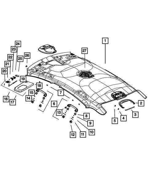 Headliners-Visors-Assist Straps for 2013 Dodge Dart | Thomas Dodge PartsThomas Dodge Parts