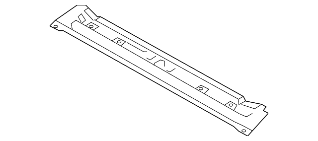 rail assembly-roof front