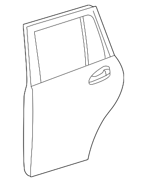 Door Shell - Mercedes-Benz (253-730-74-04)