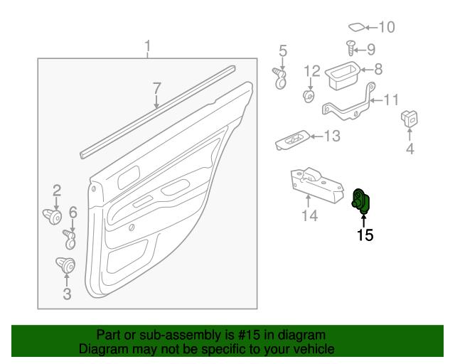door jamb diagram. Door Jamb Switch Diagram