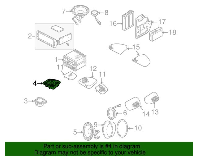 Speaker Assembly Diagram