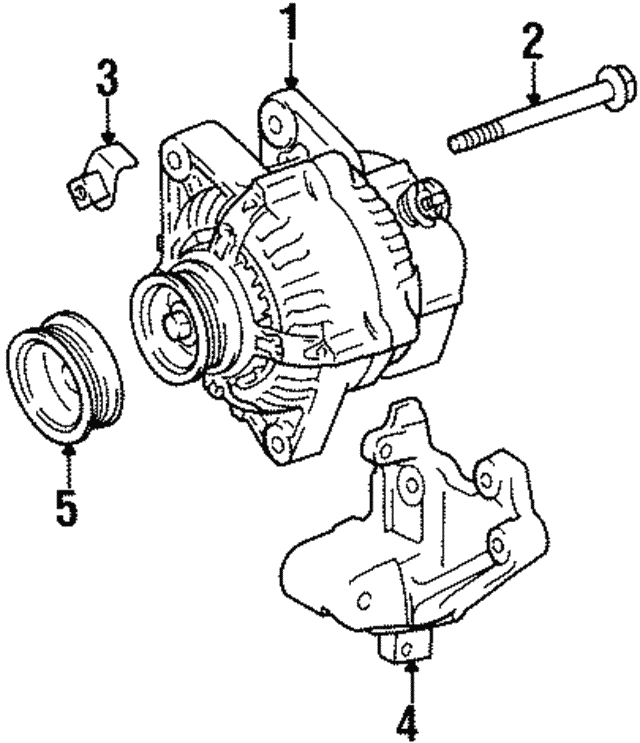 Alternator Nut - Toyota (90179-10181)