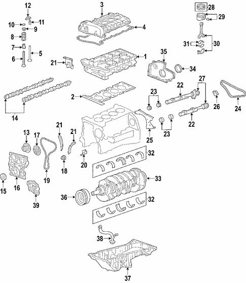 Oem 2005 Chevrolet Colorado Oil Pump Parts
