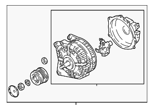 Alternator - Volkswagen (06F-903-023-G)
