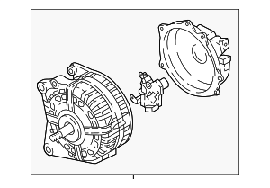 Alternator - Volkswagen (06F-903-023-GX)
