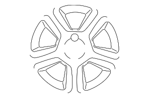 Wheel, Alloy - Nissan (40300-JA200)