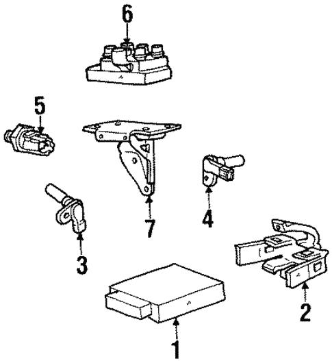 Powertrain Control For 1997 Mercury Sable