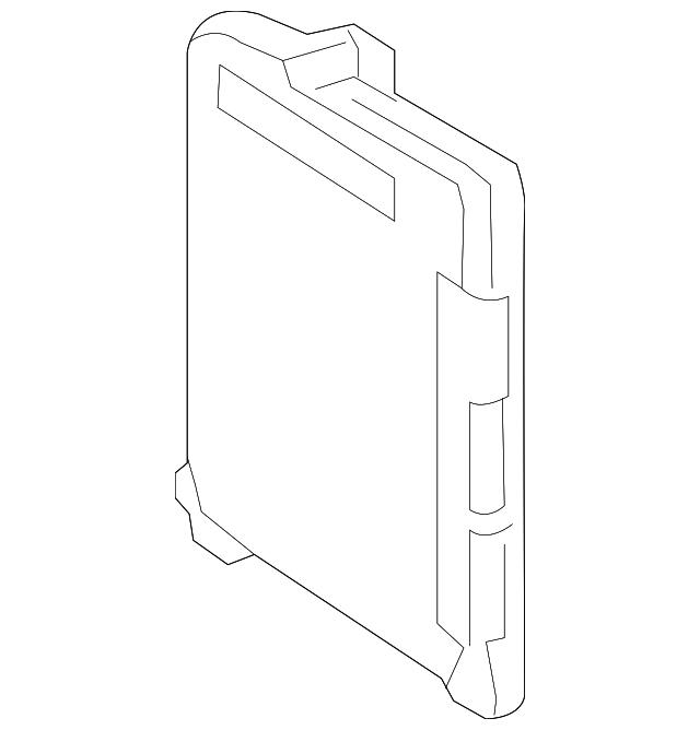 2018-2019 Toyota Prius C Computer 89220-52810
